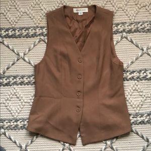 VINTAGE Anne Klein Wool Vest